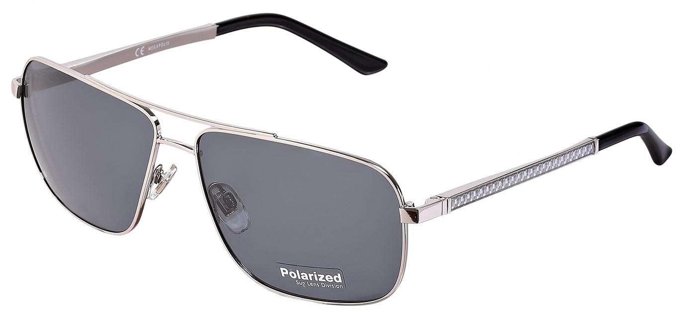 Мужские солнцезащитные очки Megapolis 176 Silver в интернет магазине ... fc0220bd05bce