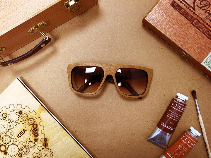 Успех бренда солнцезащитных очков в деревянной оправе Woodeez 635a9b86c2466