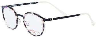 343ecc94bf0a Женские очки для зрения Barcelona ULM HVBK (круглые) - фото спереди и сбоку